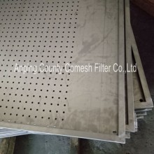 Perforated Stainless Steel Sheet Filter Trays