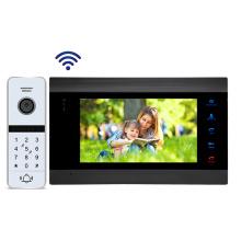 "Wi-FI IP 7"" Tuya App mobile phone control video intercom system"