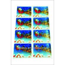2013 новый элемент-Снеговик стикер 3D линзовидные
