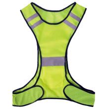Gilet de sécurité haute visibilité pour les coureurs