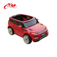 оптовая продажа ягнится электрическая езда на автомобиле батарея работает игрушки / пульт дистанционного управления 2 мотора ездить на машине / двойные диски Детский электромобиль