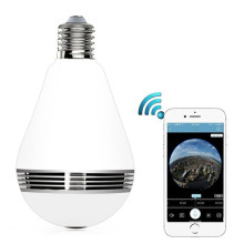 960P Panoramic Lamp Use Wifi IP Camera