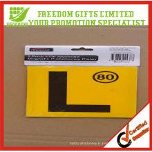 Cadeau de fenêtre personnalisé de cadeaux promotionnels / autocollant de voiture en vente