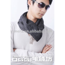 Männer 100% Kaschmir schlichter Schal