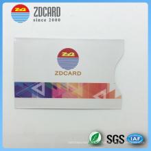 Titulaire de carte de crédit de taille standard imprimée personnalisée