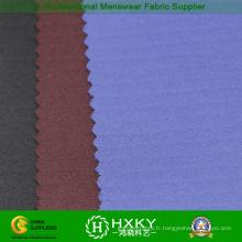 Tissu jacquard de spandex de 92% nylon pour la veste occasionnelle