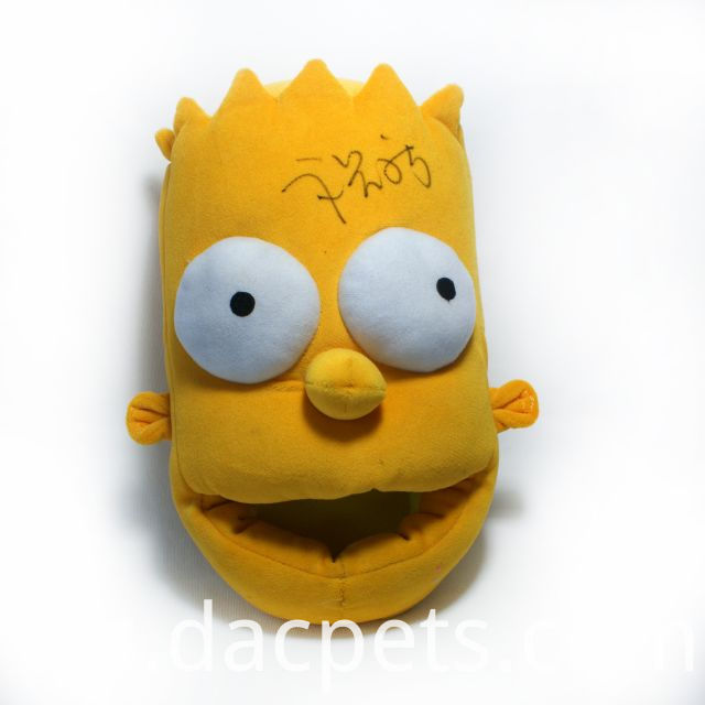 simpson plush slipper