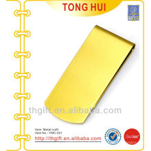 Metal Gold Blank clips en laiton