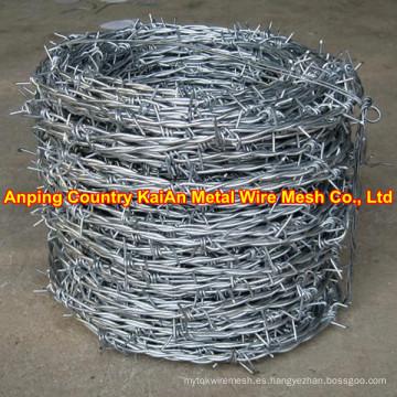 Alambre de púas / alambre de púas recubierto de PVC (30 años de fábrica)