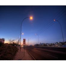 Один изогнутый конец Одиночная стрелка Уличный свет Стальной столб