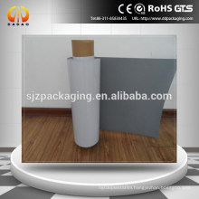 Pet white Film Backing Grey for outdoor advertisement