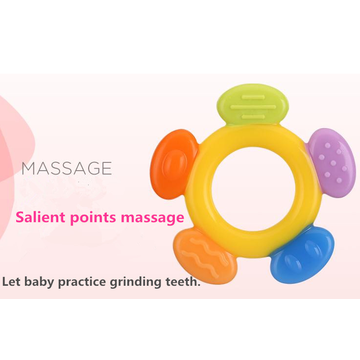 A0322 Baby Teething Toy BPA Percuma Teether silikon