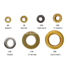 Ojales circulares Metal Grommet Antique Brass