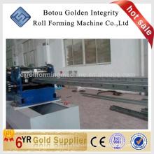 China Pallet Rack Roll Forming Machines fabricación de rack de almacenamiento formando la máquina