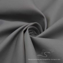 Resistente al agua y al aire libre ropa deportiva Chaqueta de tela tejida Hi-Low Striped Jacquard 100% Nylon Tela (N046)