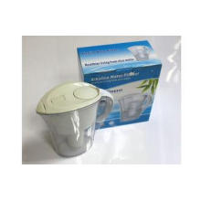 Clear White Portable Alkaline Oxygen Water Pitcher 2L For H
