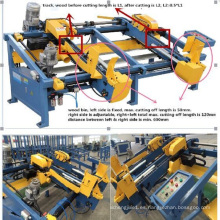 2016hicas Nuevo producto Doble End Trim Saw Making Machine
