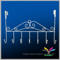 New design metal wire wall mounted clothes display rack