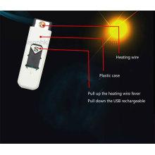 Nouvelle Arrivée Coloré Cigarette Fumer USB Briquet Électronique