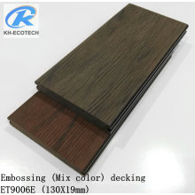 Newest & Hot Sales Embossing WPC Decking in 2018