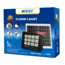Holofote solar LED 120 graus para exterior
