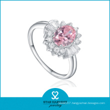 Wholesale Purity Rings with Pink Crystal