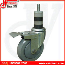 5 Inch TPU Scaffold Caster with Expand Stem