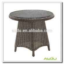 Mesa de jantar grande e redonda, mesa de jantar redonda de tamanho grande com orifício de guarda-chuva