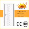 Dormitorio pintura puertas de madera blanco