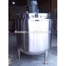 Sanitaire ss304 réservoir de chauffage électrique