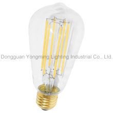 Bulbo vendedor caliente de la vendimia St64, bulbo de 8W E27 LED