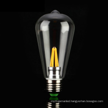 E27, E26, B22 St64 4W 6W Filament LED Bulb Light