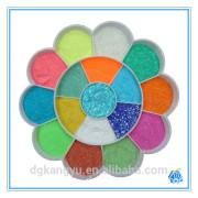 glitter powder for bright color summer fashion dresses