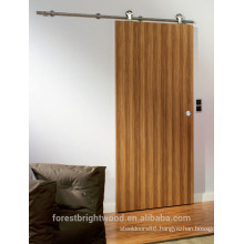 Finish Wall Mounted Cheap Sliding Flush Door
