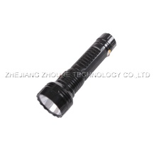 plastic flashlight rechargeable led torch