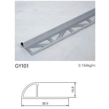10mm Altura Alumínio Radius Trim