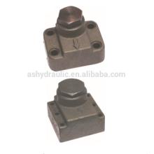 Clapet anti-retour hydraulique à Angle droit AJ-H10B,AJ-H20B,AJ-H32B,AJ-H50B,AJ-H10L,AJ-H20L,AJ-H32L,DF-B10H,DF-B20H,DF-B32H,DF-F50H