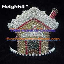 Rhinestone Tiaras Pageant Crowns