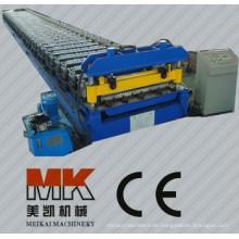 Farbige Stahlwellen-Platten-Rolle, die Maschine bildet Maschine bildet