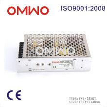 Fonte de alimentação com interruptor LED de alta qualidade Wxe-75net-D