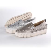 Sapatas das mulheres Senhora Moda Conforto PU Calçado Snc-71001