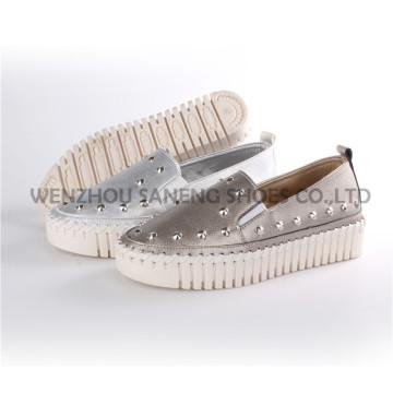Женская обувь Леди мода комфорт обувь ПУ СНС-71001