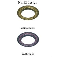 Großhandel Fine Metal Crafts dekorative Rod Vorhang Öse