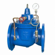 Ductile Iron Globe Style Slow Shut off Check Valve
