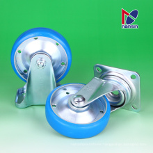 Easy to handle ISO certified caster. Manufactured by Nansin Co., Ltd. Made in Japan (side mount caster wheel)