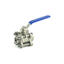 Wholesales irrigation no leak din flange SS ball valve