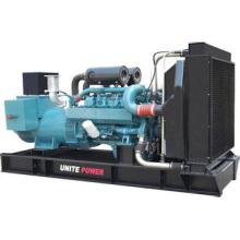 Prime Power 220kVA Standby Doosan Offen / Schalldichte Aggregat