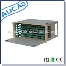"""4RU montaje en rack 19 """"fibra óptica odf 24 puerto"""