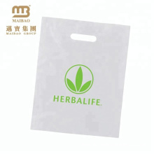 Custom Biodegradable Heavy Duty Economic Shopping Industrial Plastic Bag Made With Corn Starch / Cassava