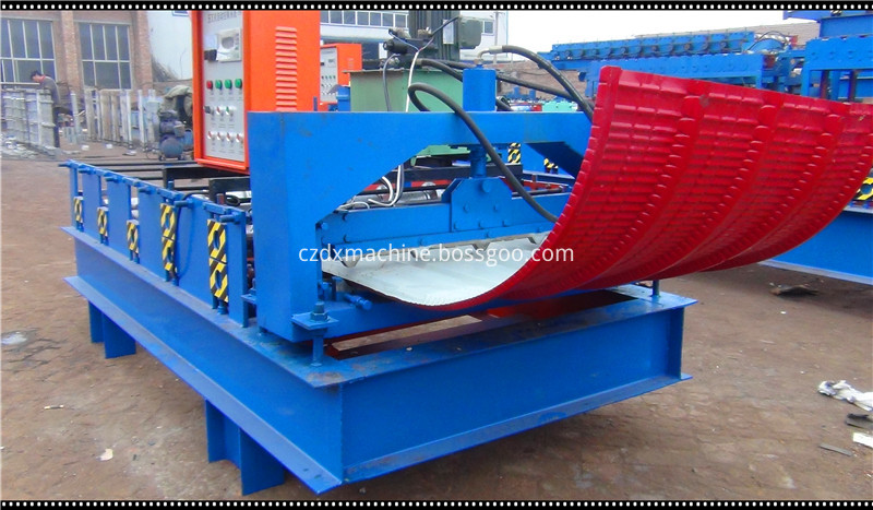 curved roofing sheet roll forming machine03